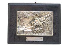 WH Artillerie 'Erinnerung Polenfeldzug' Wall Plaque