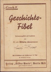 RAD Marked 'Geschichtsfibel'