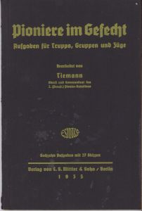 Unit Marked 'Pioniere im Gefecht' booklet (1935)