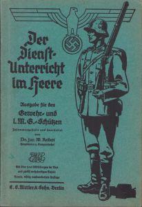 Wehrmacht Heer Reibert 1937