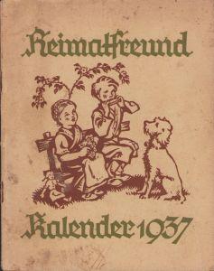 Jugend 'Heimatfreund Kalender 1937'
