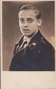 Young Panzer Soldier Portrait