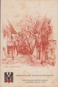 DRK 'Herzlichen Weihnachtsgruss' Postcard (rare!)