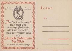 Inf.Sturmabzeichen Feldpost