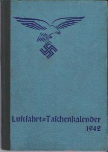 Luftfahrt Taschenkalender 1942