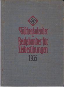 Taschenkalender Reichsbundes für Leibesübungen 1935
