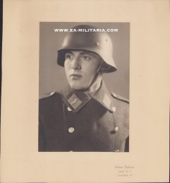 Luftwaffe Flak Soldier's Portrait