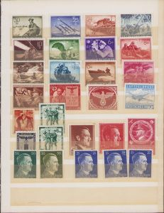 Set of 28 Postage Stamps