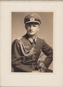 Wehrmacht Heer Officer Portrait