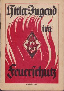 Rare 'Hitler-Jugend im Feuerschutz' Booklet