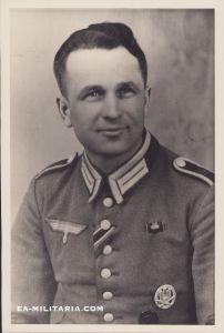 Large Wehrmacht Waffenrock Portrait