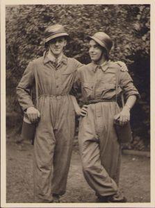 2 Luftschutz Members Photograph