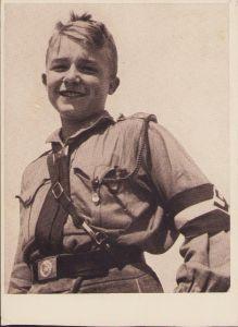 Hitlerjunge Postcard (1936)