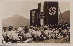 HJ 'Thingplatz-Hochlandlager 1935' Postcard