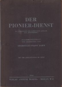 'Der Pionier-Dienst' Instruction Book