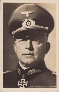 Ritterkreuzträger Postcard Generalfeldmarschall von Kleist