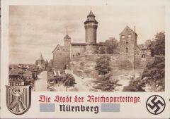 Postcard 'Die Stadt der Reichsparteitage Nürnberg'