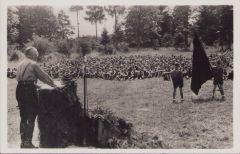 HJ 'Führerlager des Gebietes Hochland' Postcard