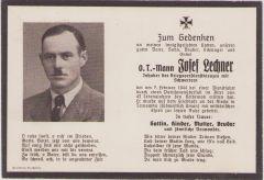 Org.Todt Death Notice (1944)