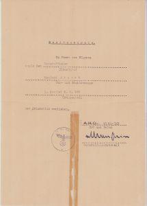 1.St.Kamp.Geschw.100 Krimschild Document