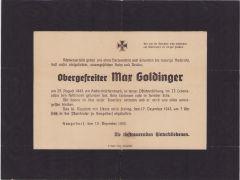Large Death Notice 1943 (Kuban)