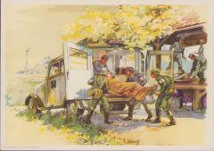 Rare DRK Color Postcard