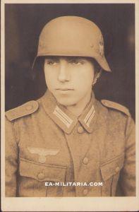 Heer Soldier's Portrait (M40 Helmet)