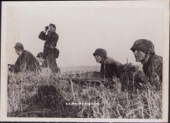 Waffen-ss 'Beobachten' Press Photograph