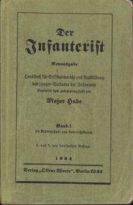 'Der Infanterist' Unterrichtsbuch 1934