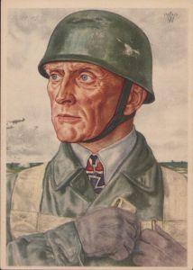 W.Willrich 'Oberst Bräuer' Postcard