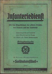 Infanteriedienst Soldatenfibel 1940