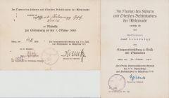 Inf.Rgt.135 Award Document Set
