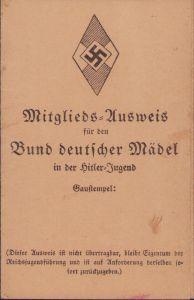 1934 Dated BDM Ausweis