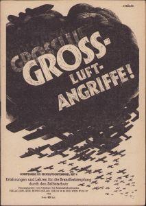'Gross Luftangriffe' Booklet