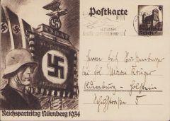 'Reichsparteitag Nürnberg 1934' Postcard