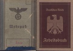 Inf.Rgt.60 (KIA) Wehrpass set (Windhund)