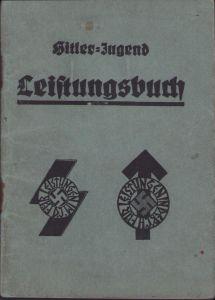 Named Hitler-Jugend Leistungsbuch (1939)