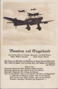 'Bomben auf Engelland' Liederkarte