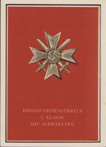 Kriegsverdienste 1 Propaganda Postcard