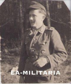 Küstenartillerie Soldier Photograph (Afrika cuff)