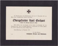Large Death Notice 1943 (EKII)