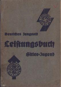 Named Deutsche-Jungvolk Leistungsbuch (1938)