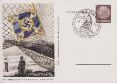 'Küstenartillerie' KdF-Sammlergruppen Postcard 1941