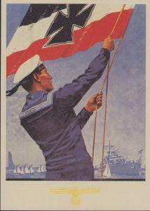 'Marine-Volkswoche Kiel 1935' Postcard