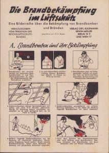 'Die Brandbekämpfung im Lüftschutz' Brochure