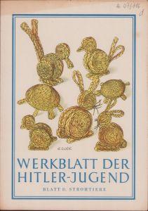 'Werkblatt der Hitler-Jugend' Blatt 8 (Sept.1943)