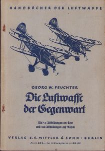 'Die Luftwaffe der Gegenwart' Booklet 1936