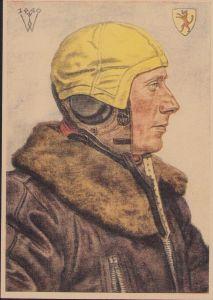W.Willrich 'Führer Jagdgruppe' Postcard