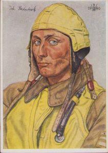 W.Willrich 'Oberleutnant Steinhoff' Postcard