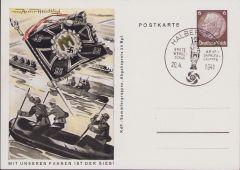 'Pioniere' KdF-Sammlergruppen Postcard 1941